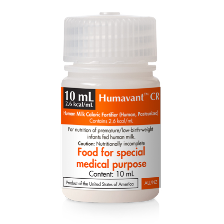 Humavant Neonatal Nutritional Products 100% Human Milk